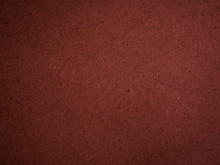 Texture Of Dark Red Cardboard Closeup, Abstract Paper Background