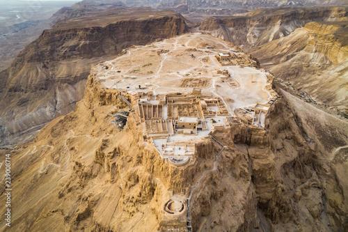 Fotografia Masada fortress area Southern District of Israel Dead Sea area Southern District of Israel