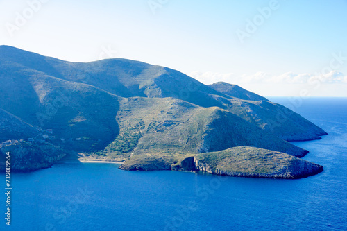 Fotografie, Obraz  Landscape in the Mani Peninsula