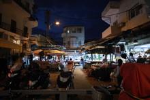 Night Market In Tel-Aviv