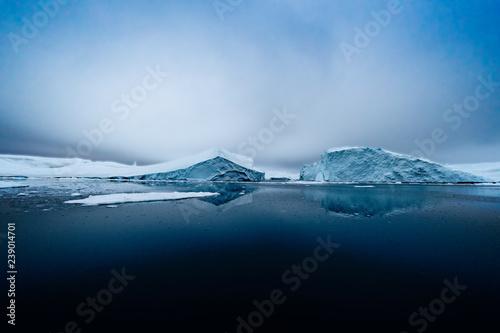 Photo Glacier on Arctic Ocean in Greenland