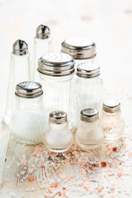 Iodized Salt In Salt Cellar Wi...