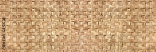 Tressage végétal / woven Wood Canvas Print