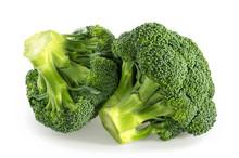 Broccoli Isolated White Background
