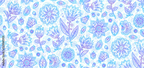 niebieskie-kwiaty-kwiecisty-styl-przebieglosc-doodle
