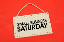 Small Business Saturday Text O...