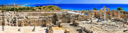 Fotobehang Cyprus Antique Cyprus - ruins of ancient temples in Kurion
