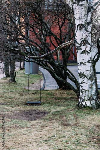 Fototapeta Helsinki, Finland - December 15, 2018: Helsinki cityscape obraz na płótnie
