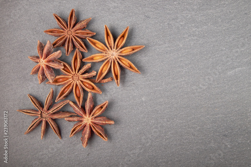Photo exotic classic spice star anise