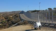 High Fence Along US-Mexico Border