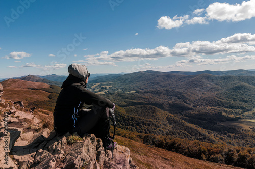 Beautiful mountains in Poland - Bieszczady Canvas-taulu