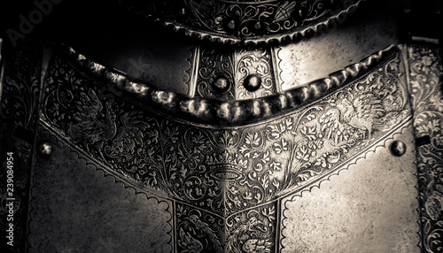 Tablou Canvas Medieval Armor Detail