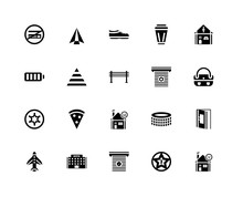 20 Icons Related To Paper Plan...