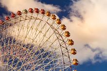 Path Of Giant Ferris Wheel In ...