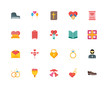 Set Of 20 icons such as Shoe, Heart, Wedding bells, Bouquet, rin