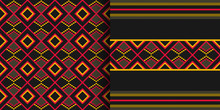 Ethnic Seamless Pattern. Cloth...