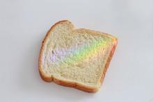 Rainbow Bread Slice