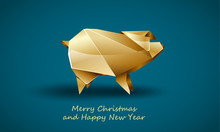 Golden Pig As A Symbol Of Chin...