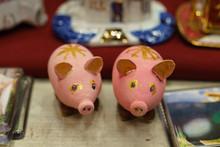 Couple Of The Pink Ceramics Pi...