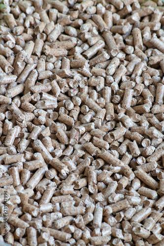 Photo  Wood pellets