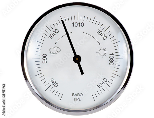 Barometer 1005 hPa - Buy this stock photo and explore similar images at  Adobe Stock | Adobe Stock