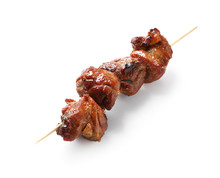 Skewer With Delicious Barbecue...