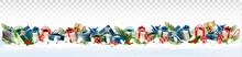 Holiday Christmas Panorama Wit...