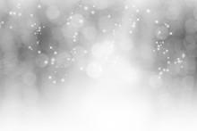 Christmas Smoky Light Bokeh. ...