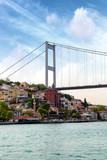 Particular view of Bosphorus Bridge, Istambul