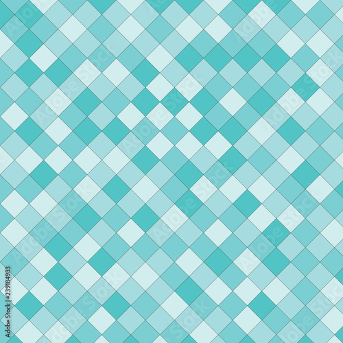 Fototapeta  Flat geometric pattern texture. Multicolor abstract