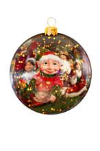 Christmas Ornament Closeup Of ...