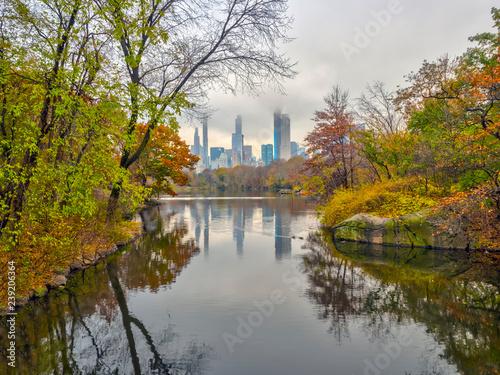 Zdjęcie XXL Central Park, Nowy Jork jesienią