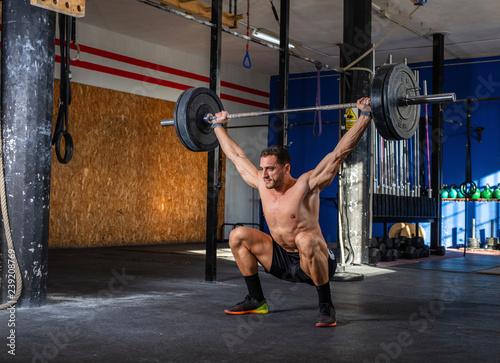 Fotografie, Obraz  young man training