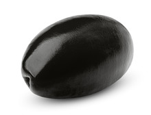 Olive Black Isolated On White ...
