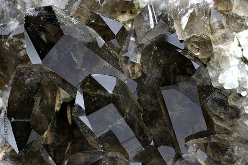 smoky quartz from Mount Galenstock, Uri, Switzerland