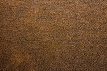 Brown Denim Texture.Brown Denim Background.