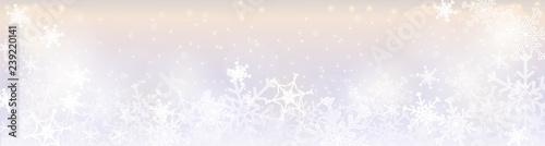 Obraz Zimowy baner - winter banner - fototapety do salonu
