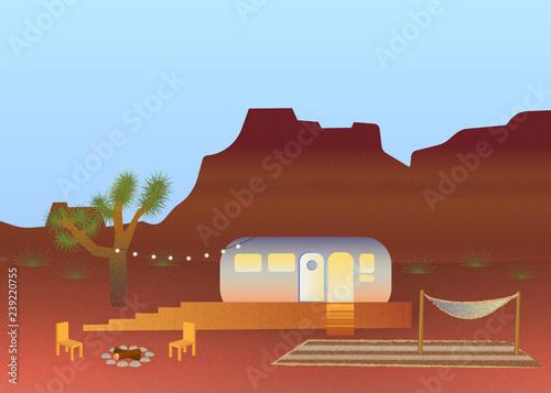 Photo Desert Camper (Daytime)