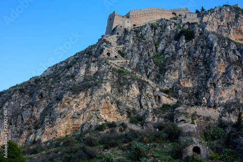 Fotografia  Palamidi fortress on the hill, Nafplion - Greece