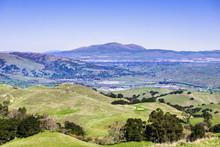 Mt Diablo And Livermore Valley...