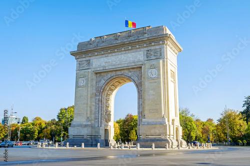 plakat Triumphal Arch in Bucharest 3