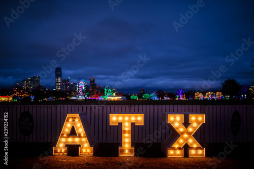 Canvas Prints Texas Austin ATX