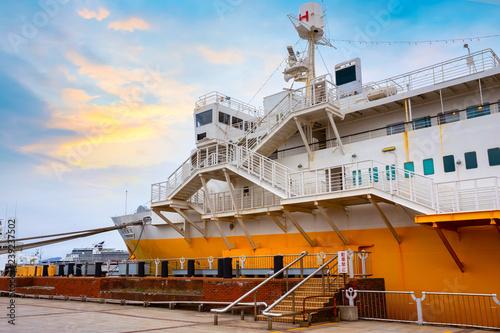 Foto  Hakkoda-Maru memorial ship at Aomori City in Japan