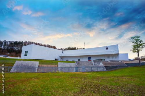 Foto  The Aomori Museum of Art in Aomori, Japan