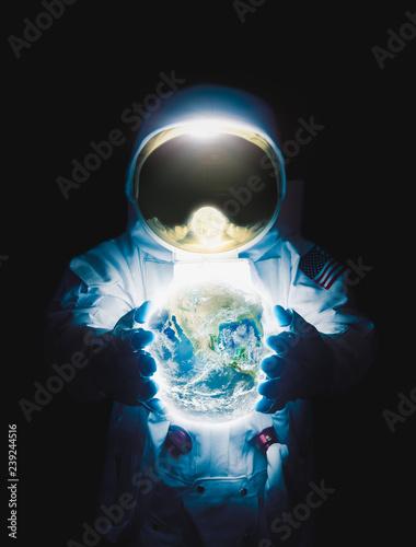 Fotografía Astronaut exploring outer space