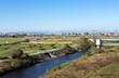 多摩川河川敷の風景