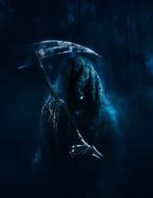 Grim Reaper Lurking In The Woods