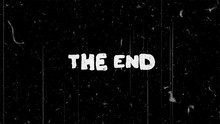 The End White Text On Black Wi...