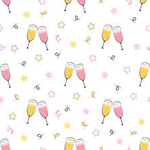 Background Champagne Glasses