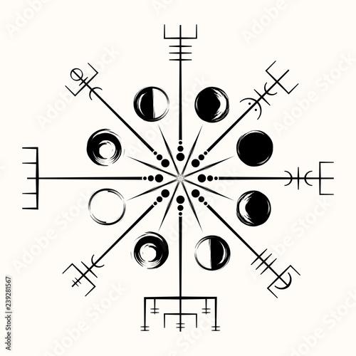 Sacred geometry_0137 Canvas Print
